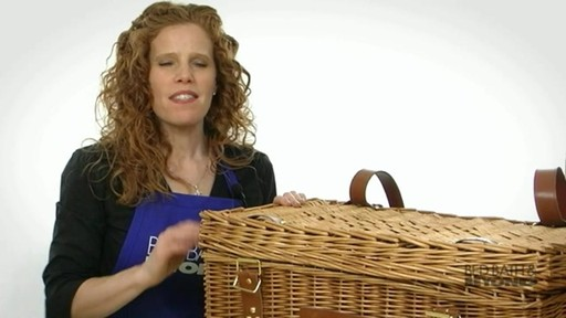 Windsor Picnic Basket - image 7 from the video