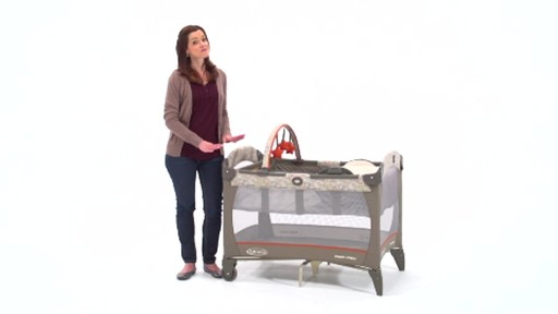 Graco Pack N Play with Newborn Napper - image 9 from the video