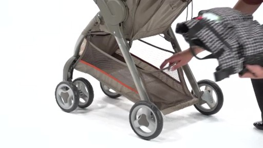 Graco FastAction Fold LX Stroller Travel System - image 8 from the video
