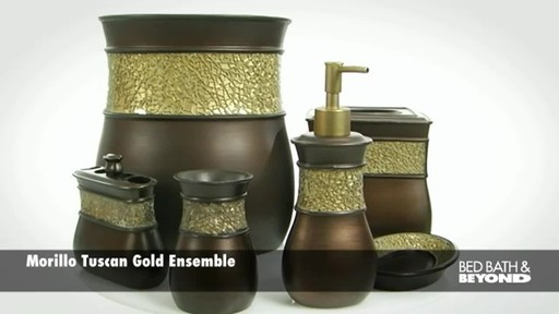 Morillo Tuscan Gold Bath Ensemble - image 1 from the video