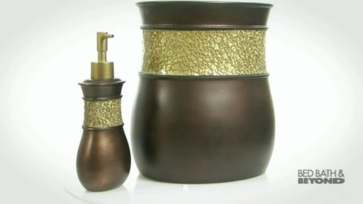 Morillo Tuscan Gold Bath Ensemble - image 5 from the video