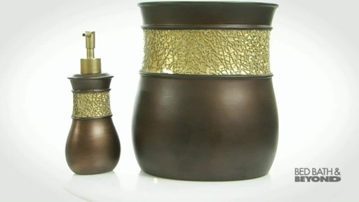 Morillo Tuscan Gold Bath Ensemble - image 6 from the video