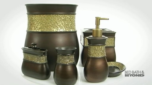 Morillo Tuscan Gold Bath Ensemble - image 8 from the video