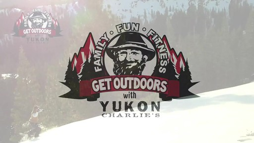 Yukon Charlie's Snowshoe Kits - image 1 from the video