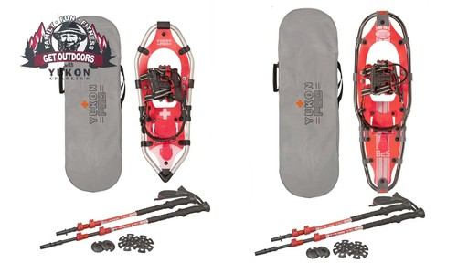 Yukon Charlie's Snowshoe Kits - image 2 from the video