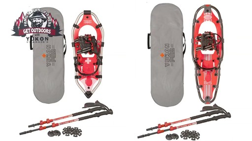 Yukon Charlie's Snowshoe Kits - image 3 from the video