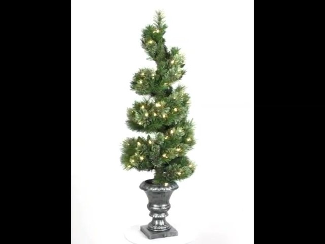 4 Pine Spiral Artificial Pre-lit Tree » Welcome To Costco