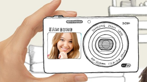 Samsung DV150 Dual-LCD Smart Digital Camera - image 1 from the video