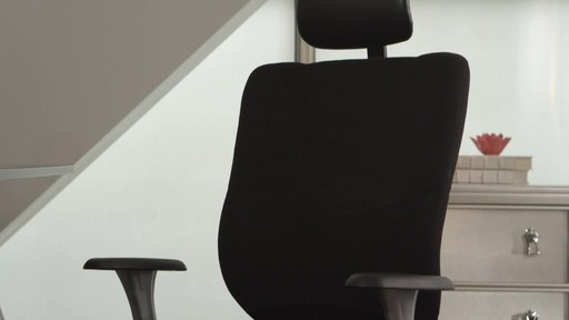 cooling office chair. Marcel Cooling Foam Office Chair By Sealy - Image 2 From The Video E
