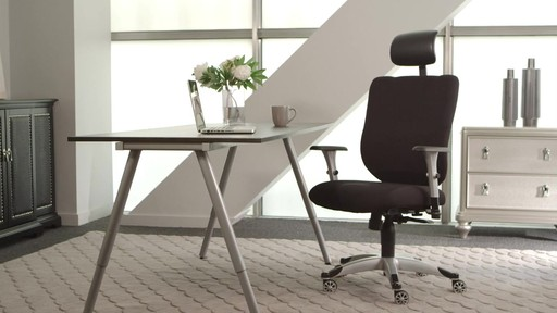 cooling office chair. Marcel Cooling Foam Office Chair By Sealy - Image 8 From The Video