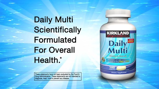Kirkland Signature Vitamins - image 6 from the video