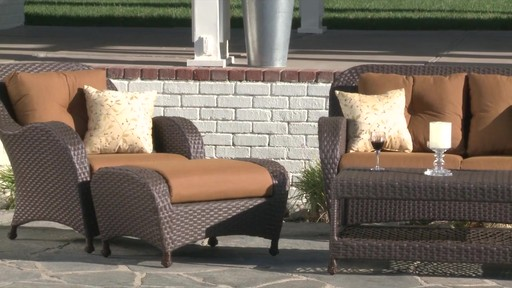 Rossano 6 Piece Patio Deep Seating Set   Image 4 From The Video