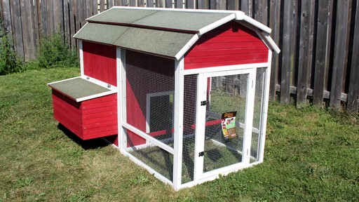jbodong easy to old red barn chicken coop plans