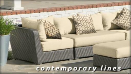 Endura 6 Piece Deep Seating Modular Sectional 187 Welcome To