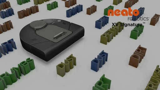 neato xv signature robot vacuum image 1 from the video. Black Bedroom Furniture Sets. Home Design Ideas