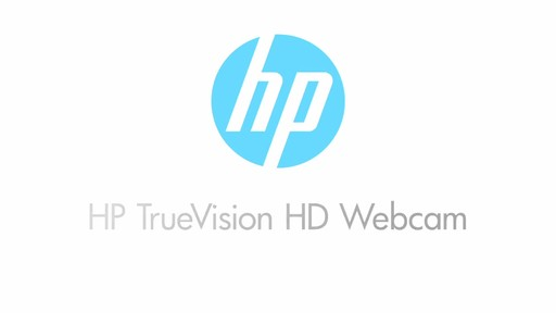 HP TrueVision HD Webcam - image 1 from the video