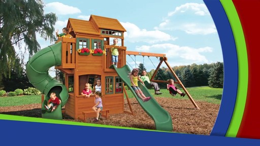 Cedar Summit Shelbyville Deluxe Playset Welcome To