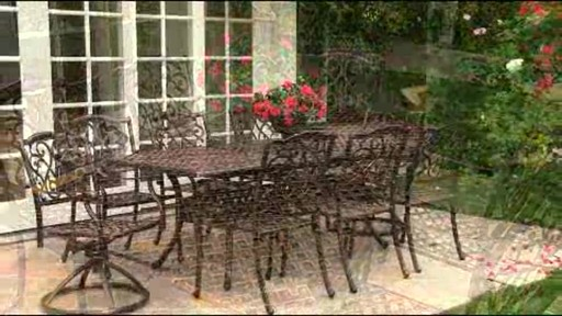 Lagos 9 Piece Patio Dining Set 187 Welcome To Costco Wholesale