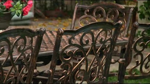 Lagos 9-piece Patio Dining Set - image 5 from the video