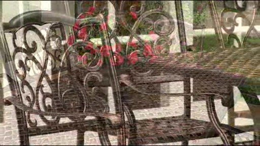 Lagos 9-piece Patio Dining Set - image 6 from the video
