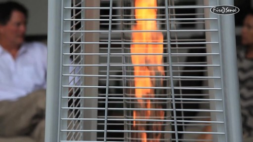 Stainless Steel Pyramid Flame Patio Heater 187 Video Gallery