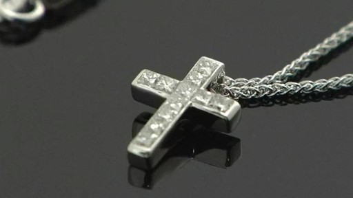 Diamond Cross Necklace Jewelry Video Gallery