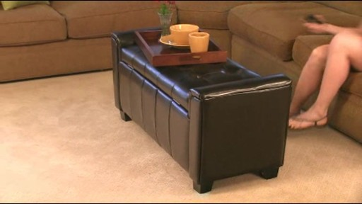 Stupendous Alden Bonded Leather Storage Bench Welcome To Costco Wholesale Alphanode Cool Chair Designs And Ideas Alphanodeonline
