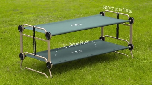 Cam O Bunk Portable Adult Bunk Cot 187 Welcome To Costco