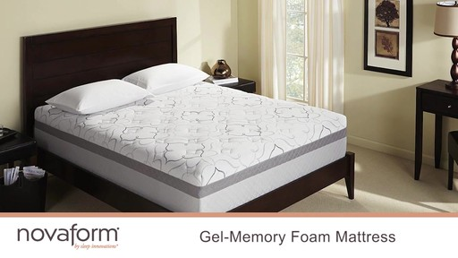 Novaform 174 14 Quot Gel Memory Foam Mattress 187 Video Gallery