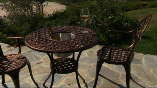 Camden 3-piece Patio Bistro Set - image 1 from the video