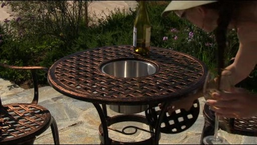 Camden 3-piece Patio Bistro Set - image 2 from the video