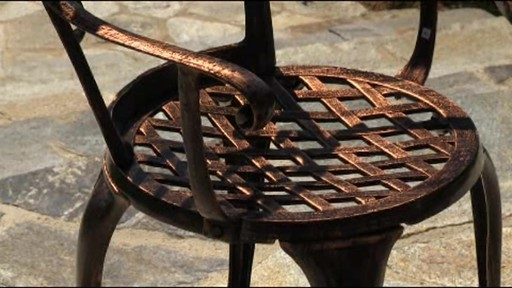 Camden 3-piece Patio Bistro Set - image 5 from the video