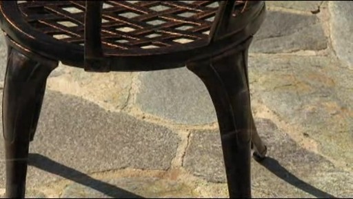 Camden 3-piece Patio Bistro Set - image 6 from the video