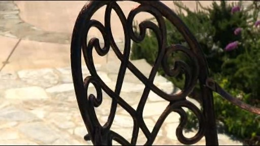 Camden 3-piece Patio Bistro Set - image 7 from the video