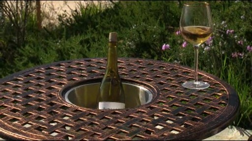 Camden 3-piece Patio Bistro Set - image 8 from the video