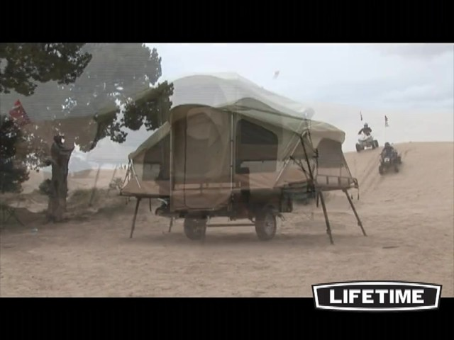 Lifetime Tent Trailer - image 10 from the video