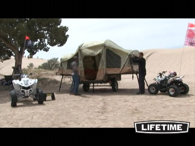 Lifetime Tent Trailer - image 2 from the video