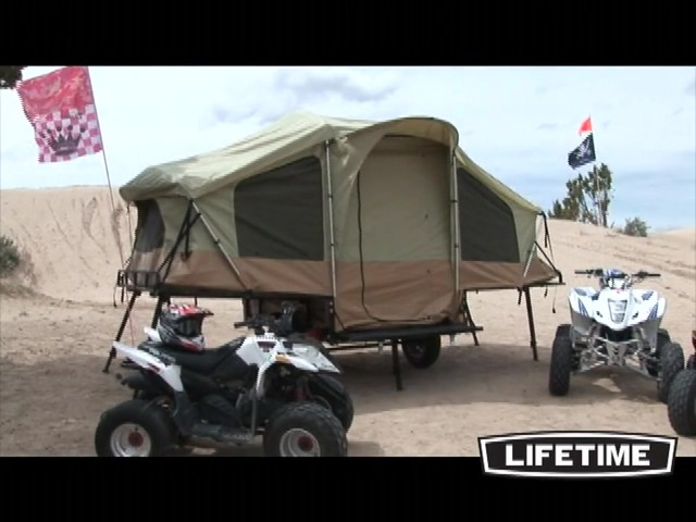 Lifetime Tent Trailer - image 4 from the video