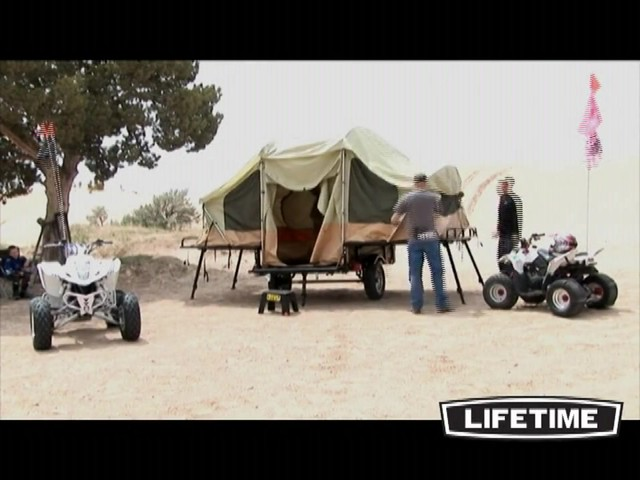 Lifetime Tent Trailer - image 7 from the video