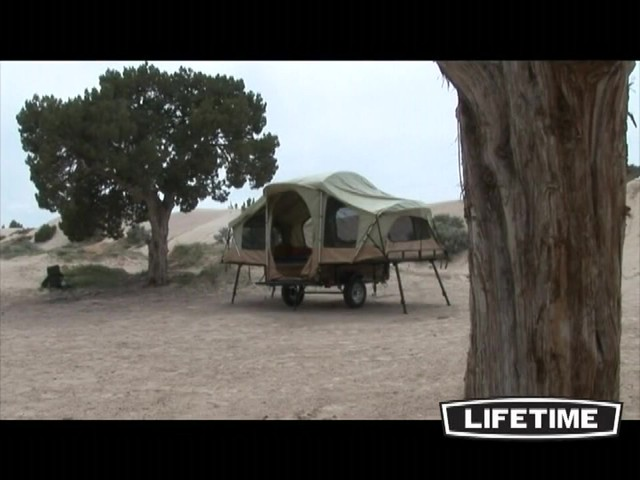 Lifetime Tent Trailer - image 9 from the video