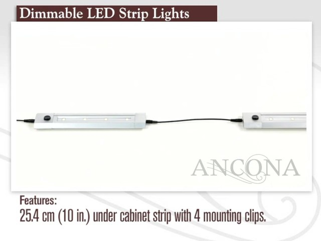 Ancona dimmable led strip light 2 pack welcome to costco wholesale ancona dimmable led strip light 2 pack image 1 from the video aloadofball Image collections