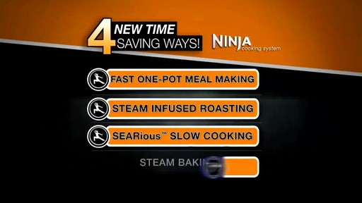 Ninja® 3-in-1 Cooking System - image 9 from the video