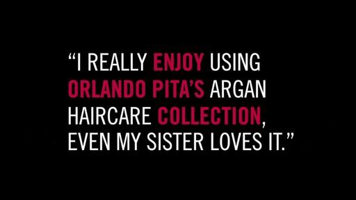 Orlando Pita Argan Haircare Collection - image 5 from the video