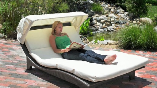 Miramare Canopy Chaise Lounge 187 Mission Hills 187 Video Gallery