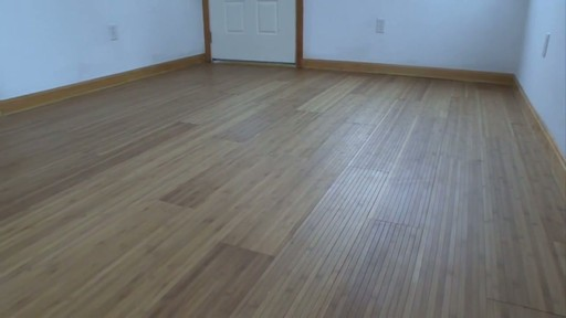 Magic Bond DIY Flexible Bamboo Flooring - image 2 from the video