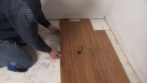 Magic Bond DIY Flexible Bamboo Flooring - image 5 from the video