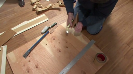 Magic Bond DIY Flexible Bamboo Flooring - image 6 from the video