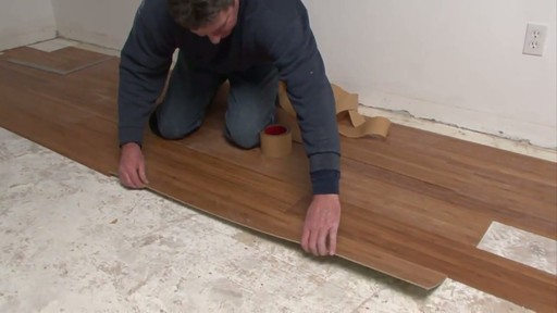 Magic Bond DIY Flexible Bamboo Flooring - image 9 from the video