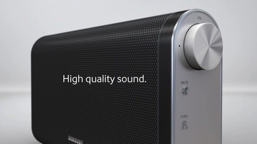 Samsung Da Fm61c Bluetooth Wireless Portable Speaker
