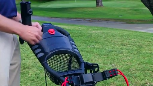Caddytek One Click Folding 4 Wheel Golf Push Cart
